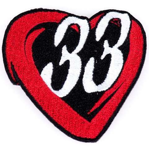 ChopCult 33 Love Patch