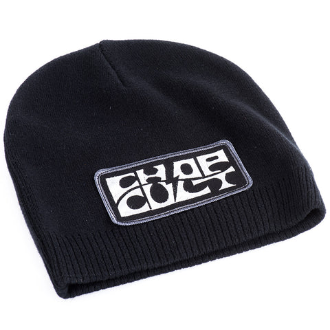 ChopCult Logo Thin Skull Cap - Black