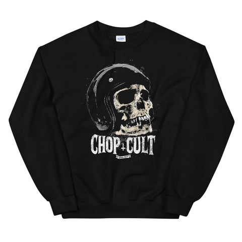 ChopCult Skull Sweatshirt - Black