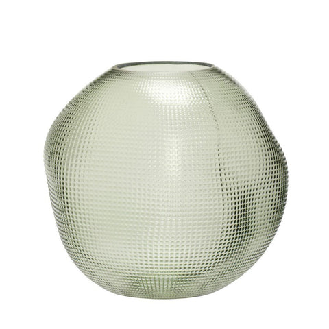 Green Organic Orb Vase- PICK UP ONLY