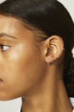 Tiny Hoop Earcuff Silver 10mm