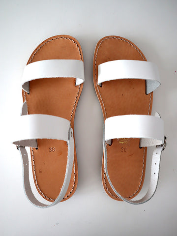 Sandals White SELECTED BY SIGHT