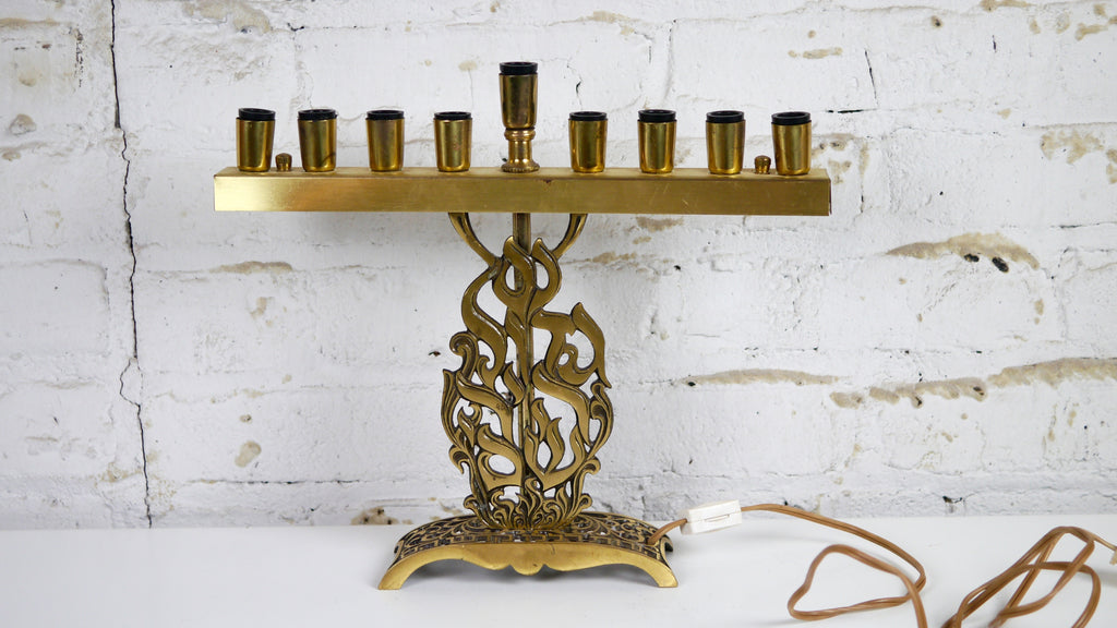 Mid Century Oppenheim Electric Menorah