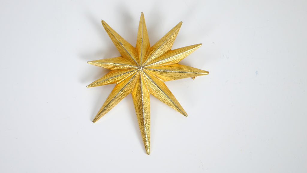 Mid Century Starburst brooch by VANS Authentic