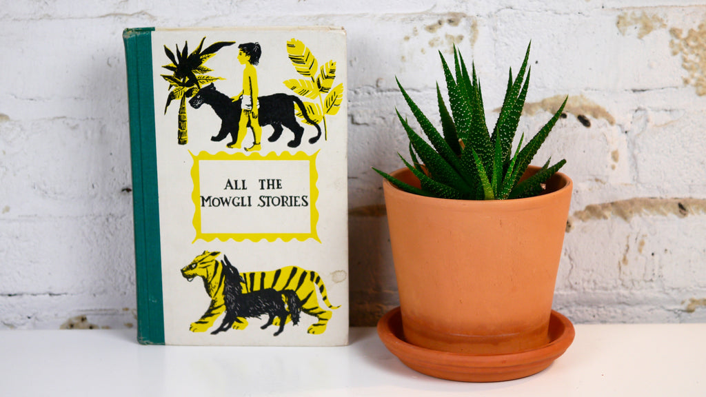All The Mowgli Stories Book Rudyard Kipling Mid Century Printing