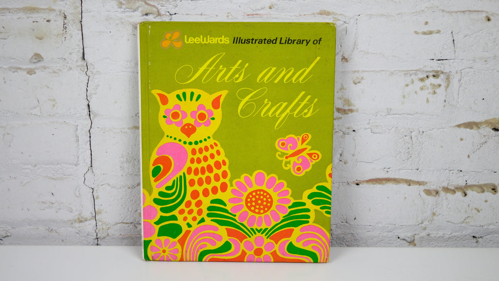 Vintage 1970s Leewards Arts and Crafts Book