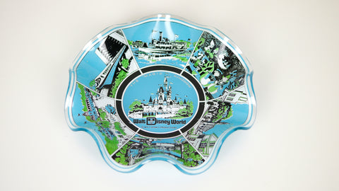 Vintage 1970s Disney World Trinket Dish Candy Dish Ashtray