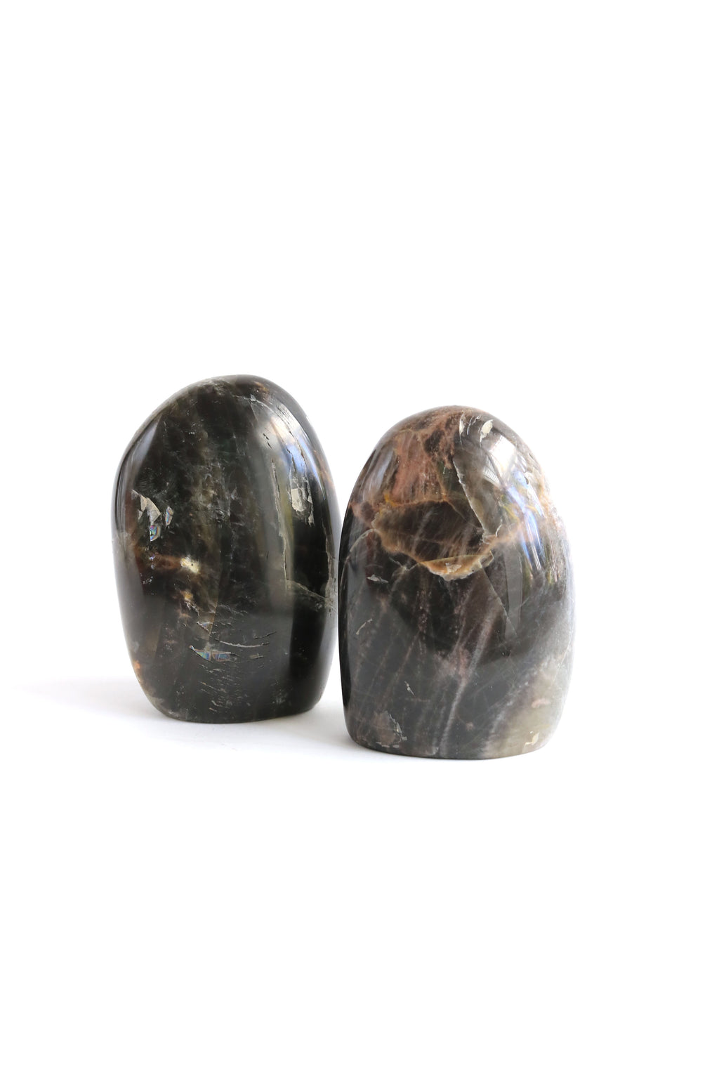 Black Moonstone Polished Specimen