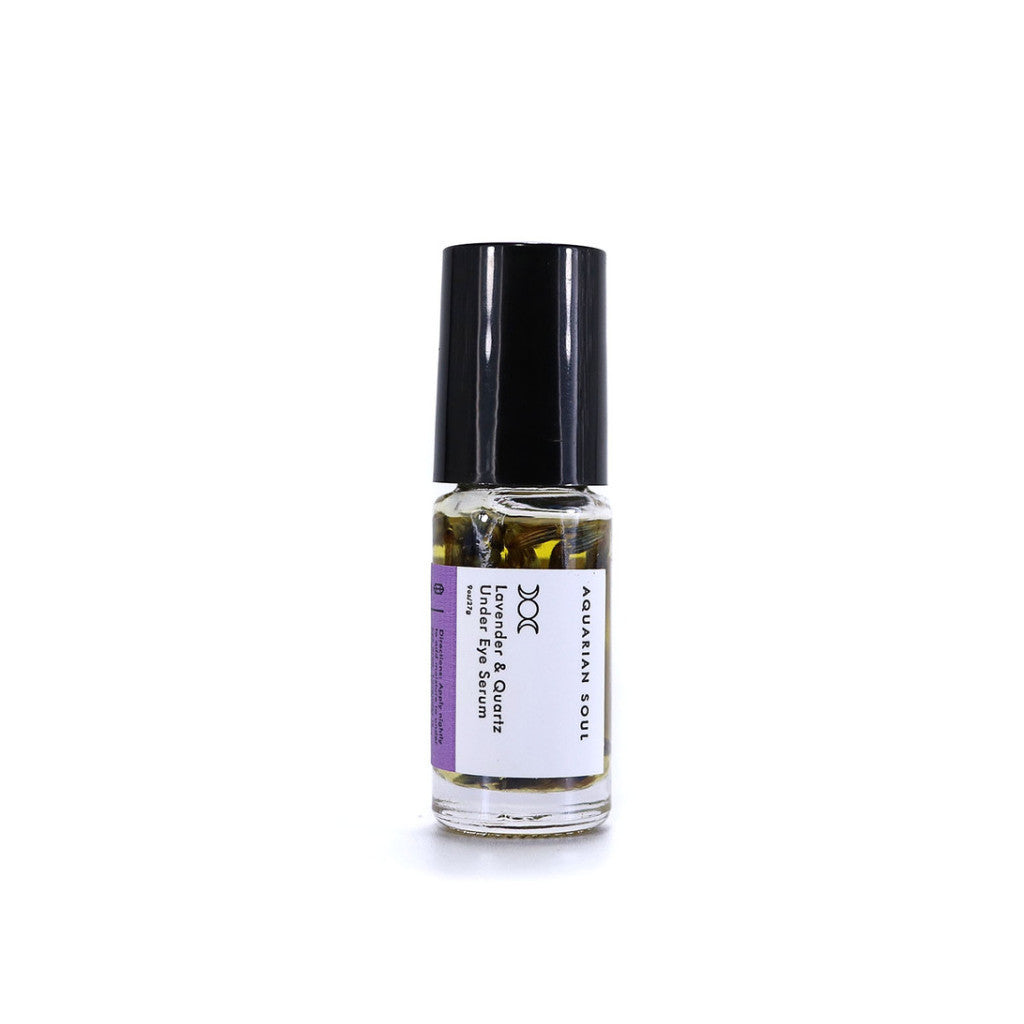 Lavender and Quartz Under Eye Serum
