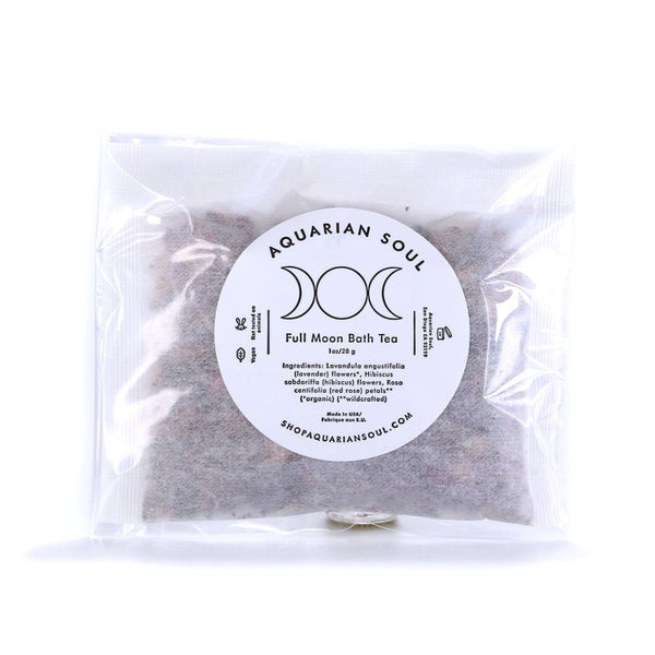 Full Moon Bath Tea Bag