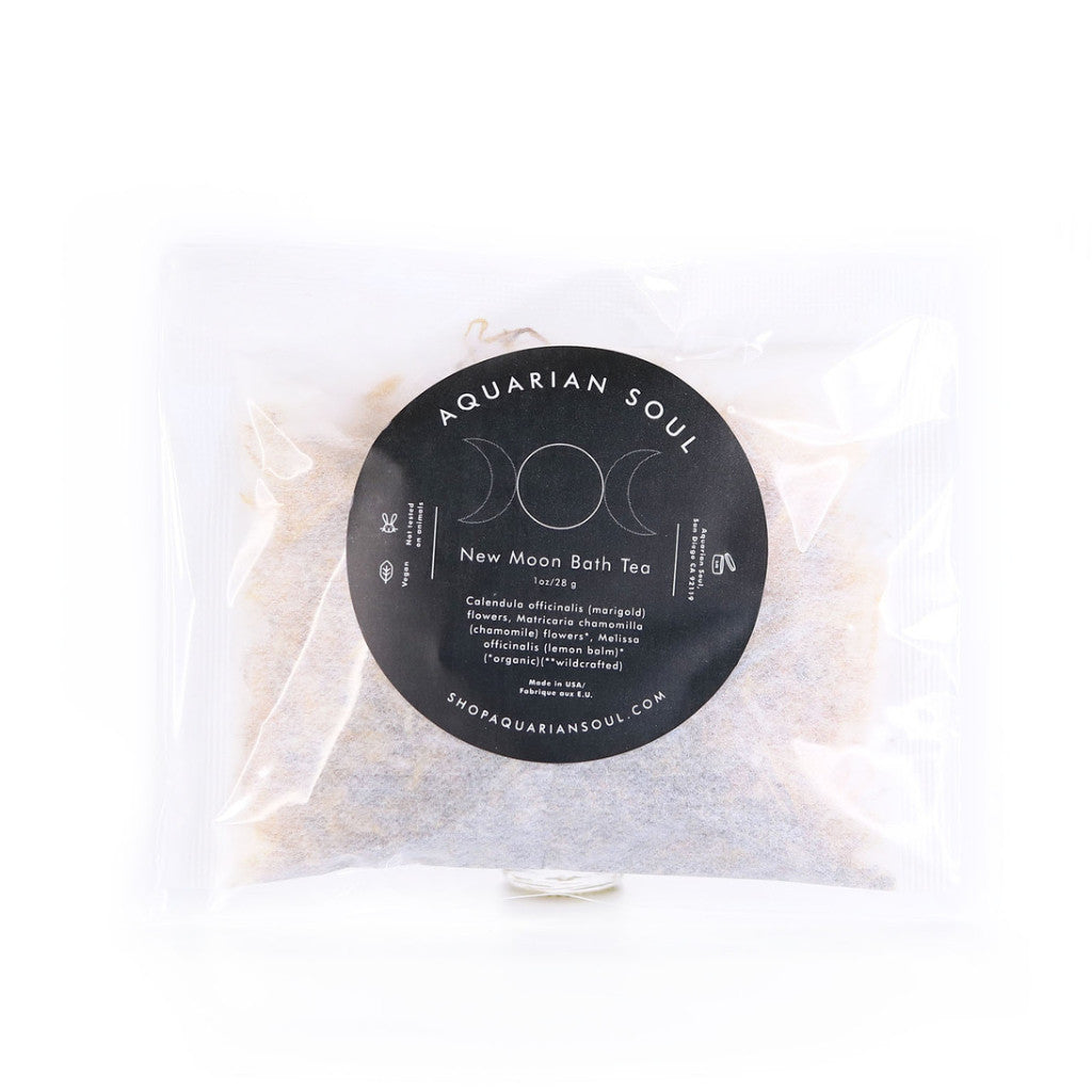 New Moon Bath Tea Bag