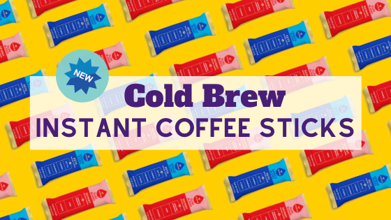 New!  Cold Brew Instant Sticks