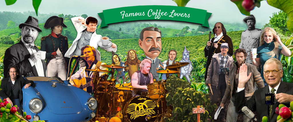 13 Famous Coffee Lovers Throughout History