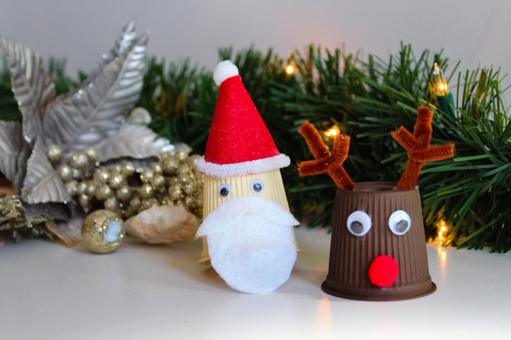 Coffee Christmas Ornaments.Diy Christmas Ornaments With Empty Coffee Pods Vitacup