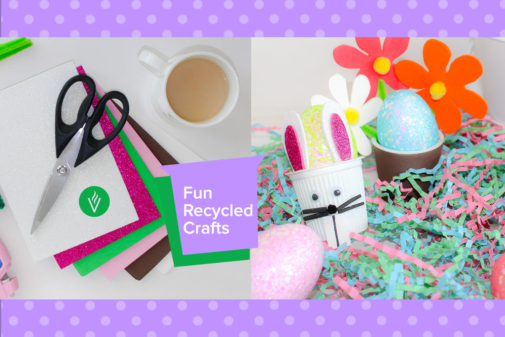 DIY Craft with Recycled Coffee Pods for Easter