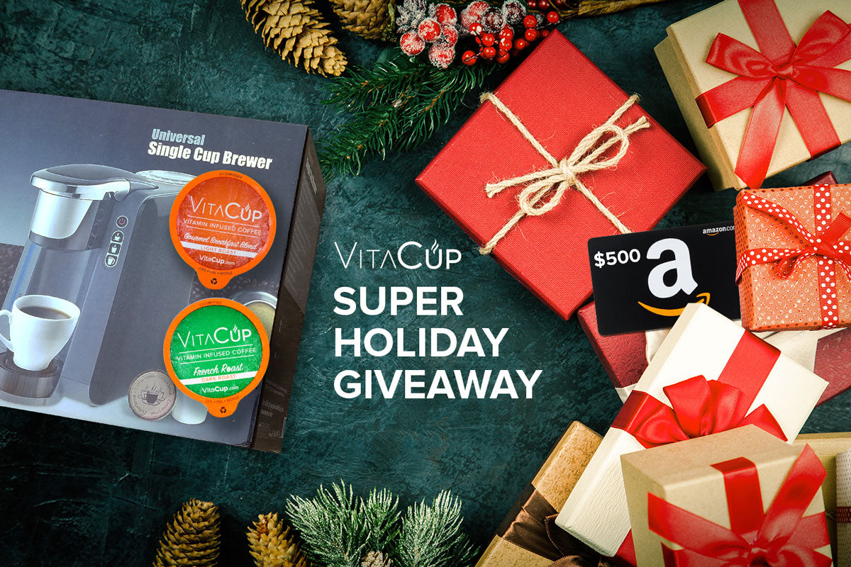Win our Holiday Brewer, $500 Amazon Gift Card & Coffee Giveaway - Free Sweepstakes!