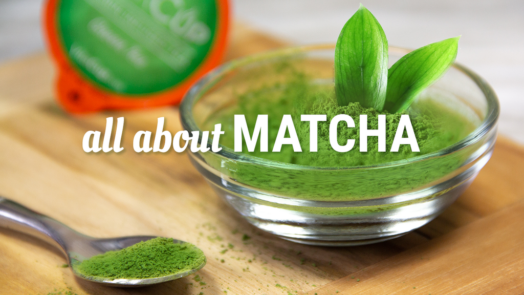 Learn All About Matcha - What's the Big Deal?