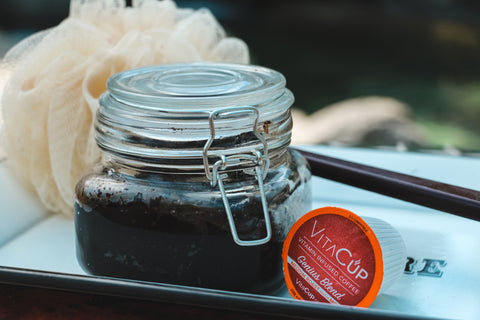 Easy Coffee Body Scrub: Reduce, Reuse, Recycle