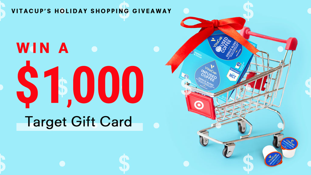 VitaCup's $1,000 Target Shopping Spree Giveaway
