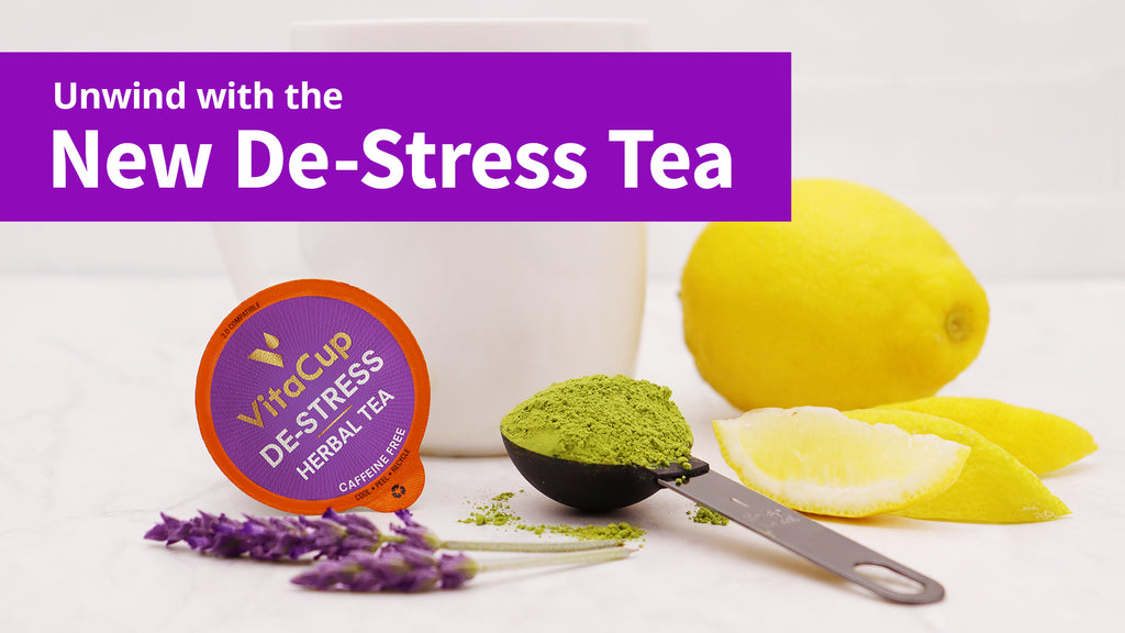 NEW! De-Stress Tea Pods