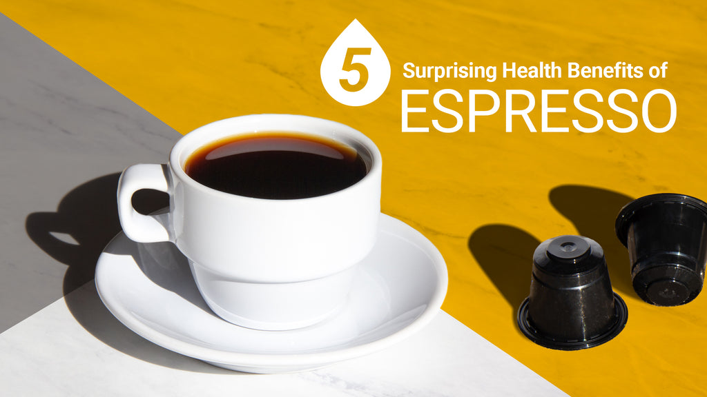 5 Surprising Health Benefits of Espresso