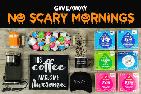 Enter to win the No Scary Mornings Contest and Coffee Giveaway!
