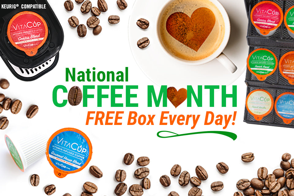 National Coffee Month - Free Box a Day Giveaway!