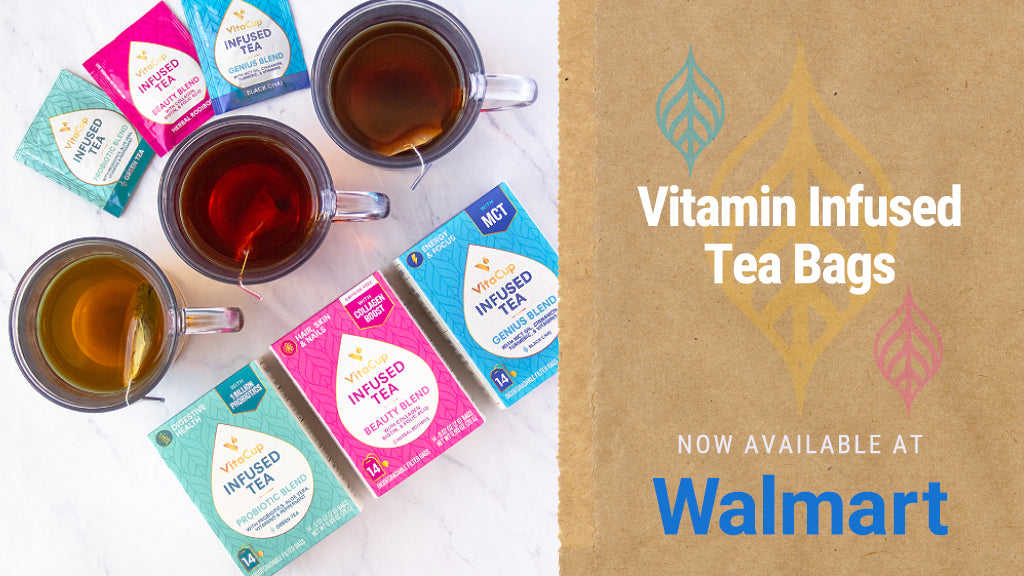 VitaCup Teas Now Available at Walmart