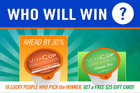 Who Will Win? Green Tea and Gourmet Breakfast Blend