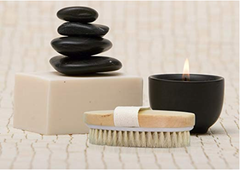 A body brush or skin brush will be a great gift during dry winter days.