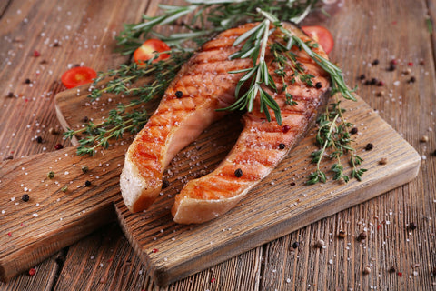 Fabulous food for thought number 2; brain food fatty fish like salmon.