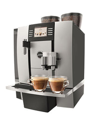 The Jura X7 Superautomatic Professional espresso machine.