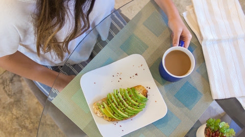 Delicious Avocado Toast and Coffee for a Healthy Breakfast