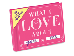 Fill in the blank love note gift idea.
