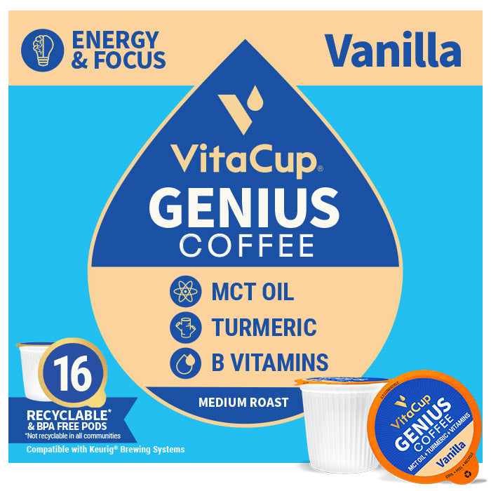 Genius Vanilla Coffee Pods