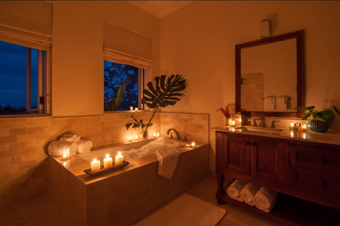 Spa Days or a Candlelit Bath are perfect mother's day gifts!