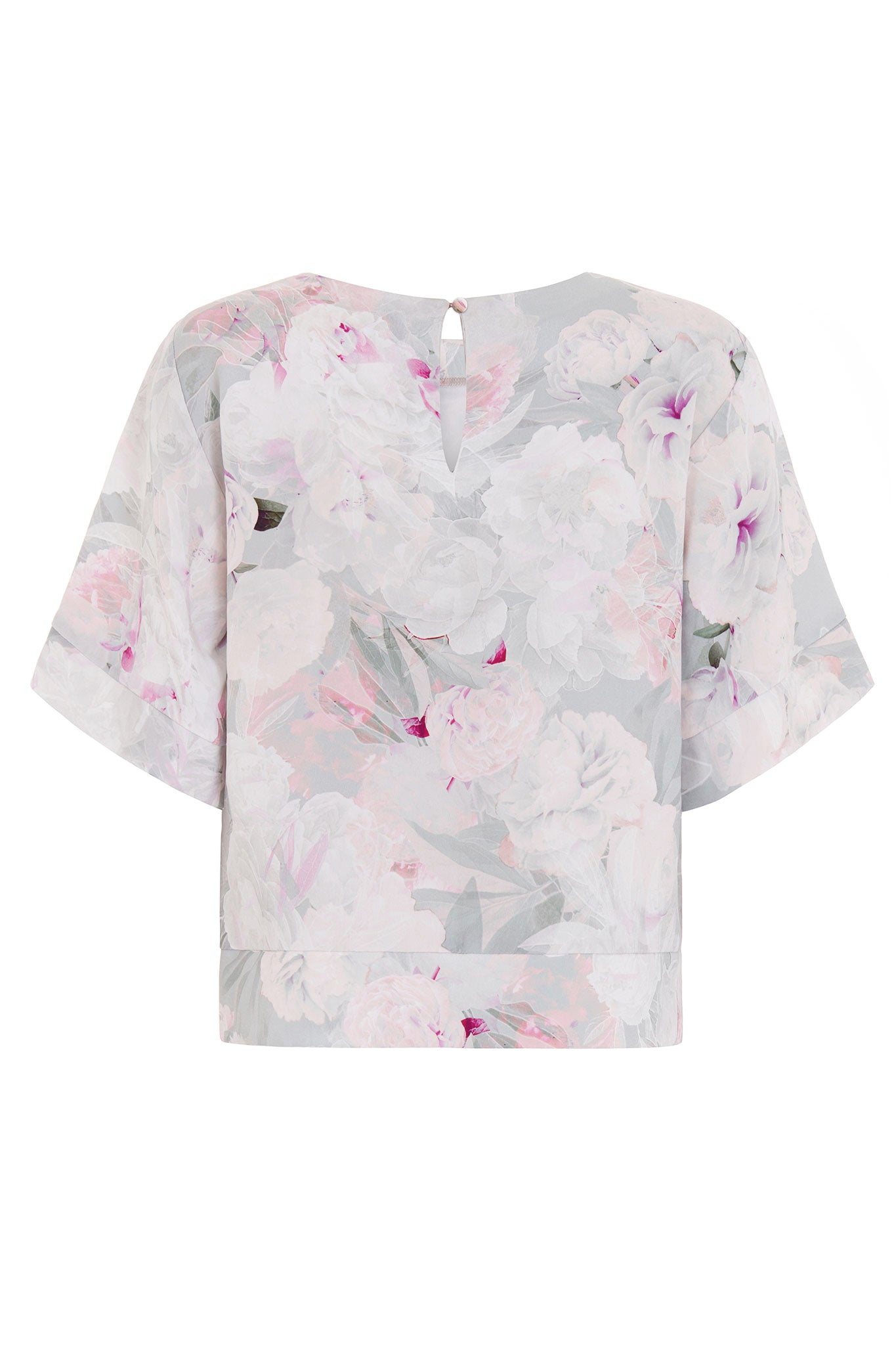 The Anna Silk Floral Printed Top