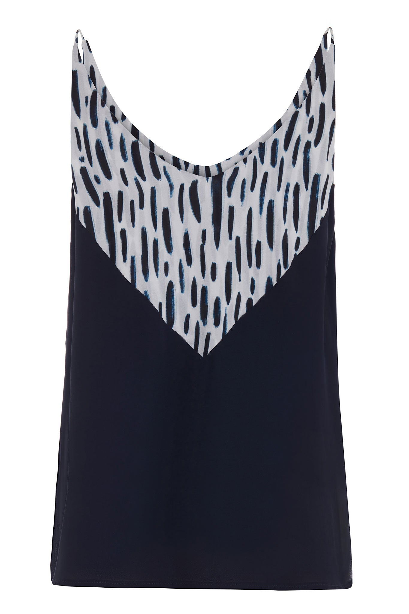 The Sophie Navy Print Cami Top