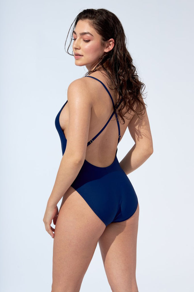 Selfish Swimwear - Sasha One Piece Navy Blue