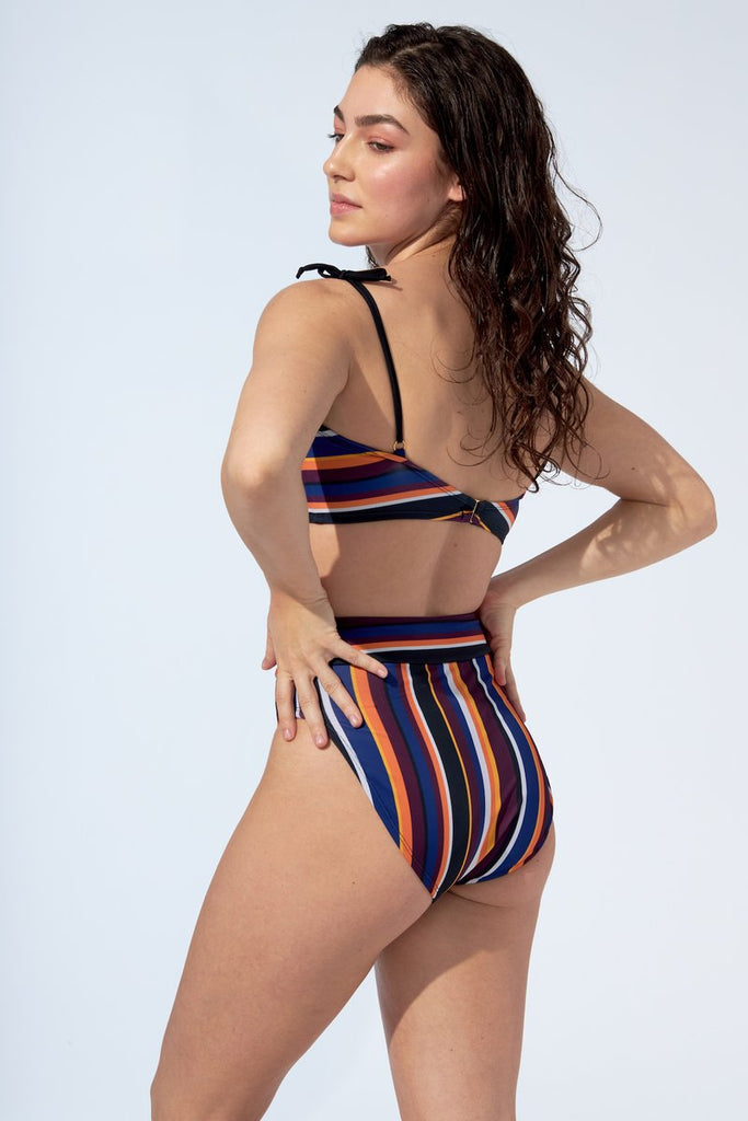Selfish Swimwear - Marina Top Stripe