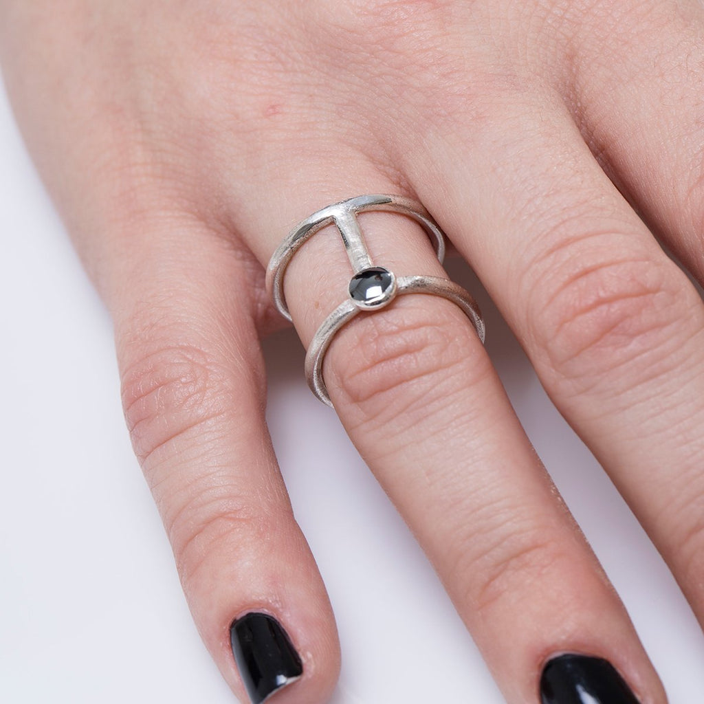 Shizing – Double Line Ring