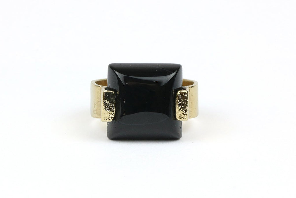 Shizing - Stone Square Ring