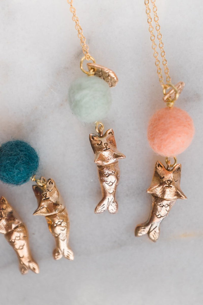 Dawning - Purrmaid Necklace