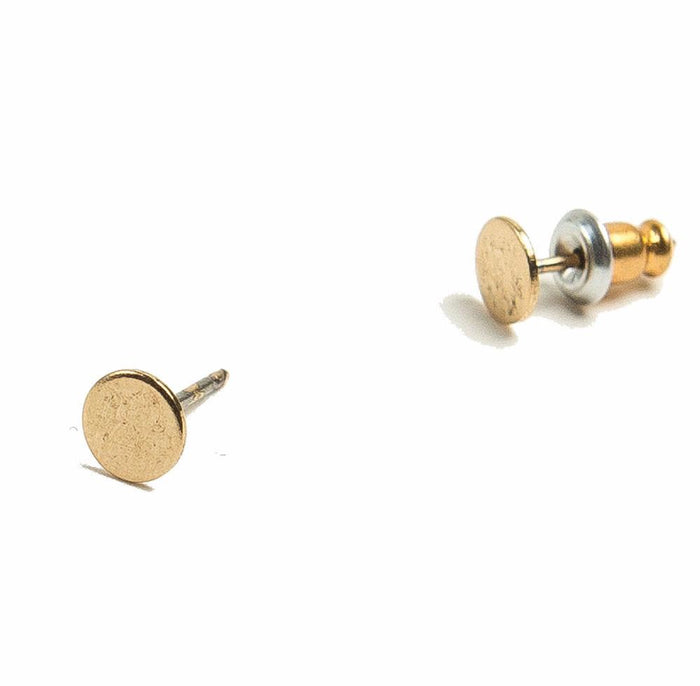 Tilly Doro - Flat Disc Stud Earrings
