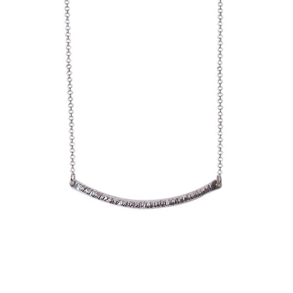 Strut Jewelry – Faceted Bar Necklace