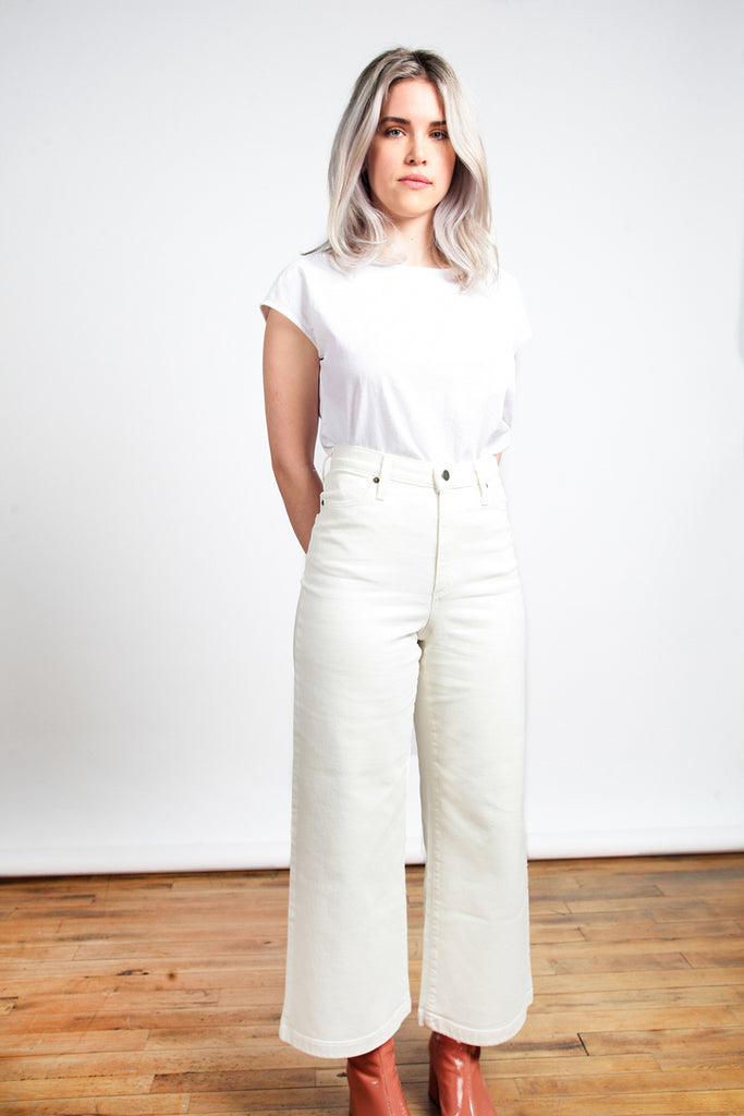 Iris Denim - Edge of Seventeen Jeans Vintage White
