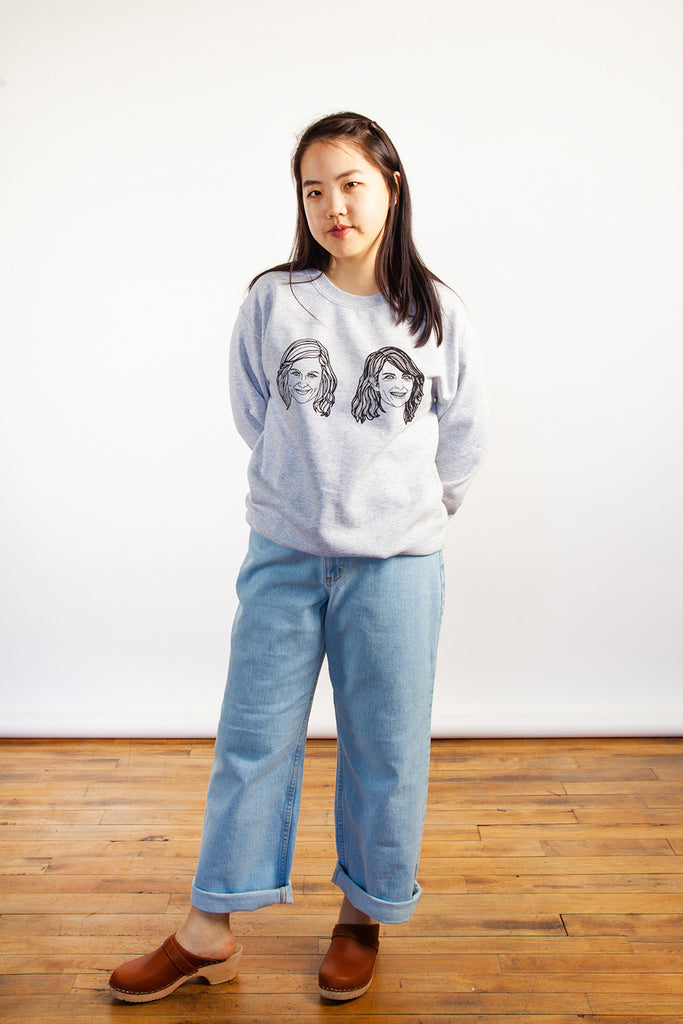 Allie Sweeting - The Amy and Tina Sweatshirt