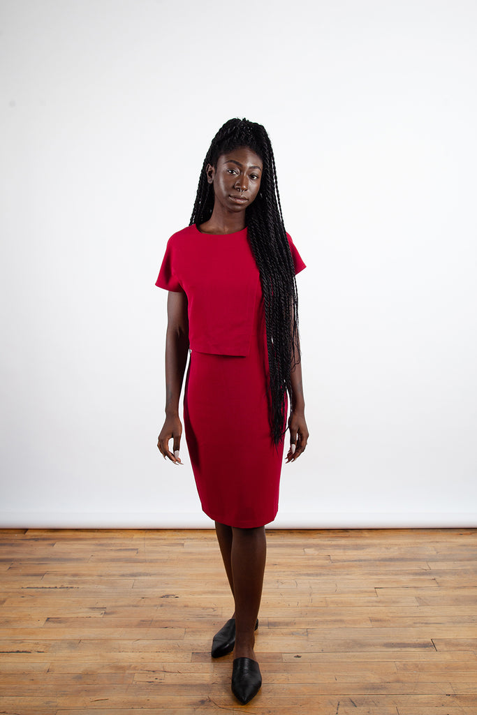 Valerie Dumaine – Kiari Dress Red