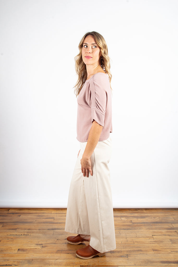 Dagg & Stacey - Cassady Wide Leg Natural