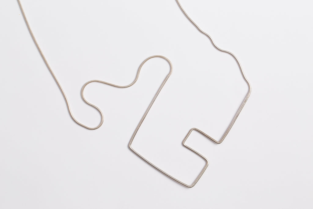Shizing - Crop Necklace Square